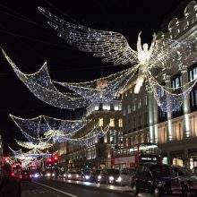 Quando o natal e o inverno chegam em Londres!