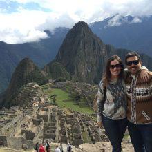 Um dia em Machu Picchu.