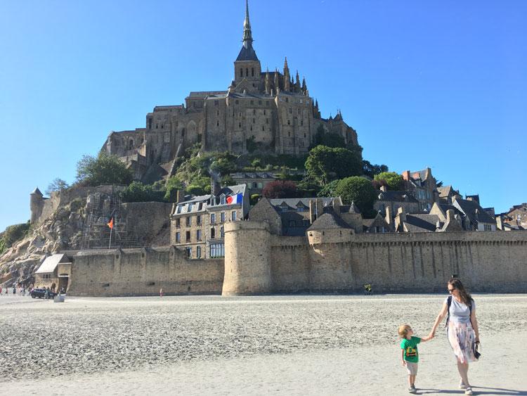 O incrível Mont Saint Michel!