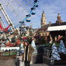 Final de semana em Lille com Mercado de Natal