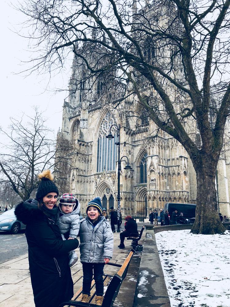 Final de semana em York