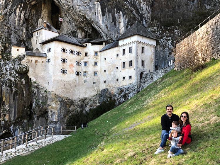 Cavernas, castelos e o litoral da Eslovênia
