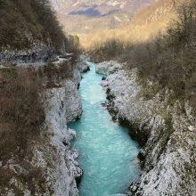 Bovec e Vrsic Pass na Eslovênia