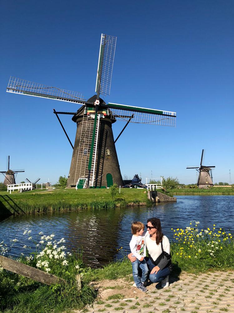 Rotterdam e Kinderdijk, conheça os tradicionais moinhos de vento holandeses