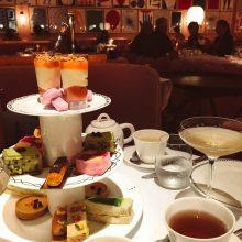 Chá da tarde no Sketch em Londres