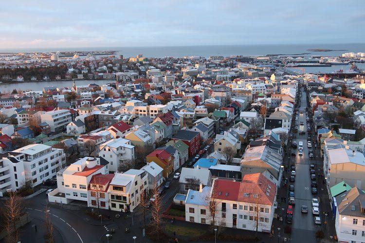vista-aerea-reykjavik-islandia