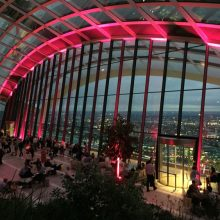 SkyGarden com jantar no Fenchurch