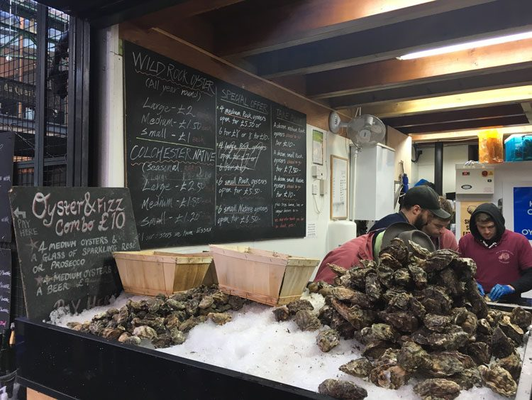 ostras-borough-market