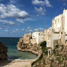 Lecce e as praias no sul de Puglia na Itália