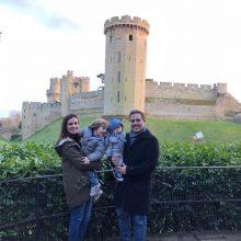 Passeio ao Castelo Medieval de Warwick