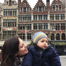 Waffles e Frittes; Um final de semana na Antuérpia