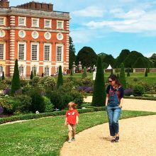 Hampton Court Palace e o Magic Garden