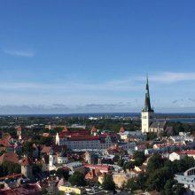 Um passeio por Tallin a capital da Estônia