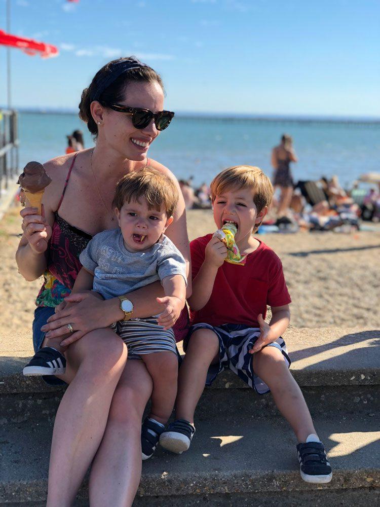 praia-sorvete-southend-inglaterra