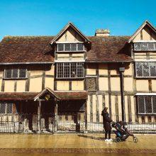 Stratford-upon-avon, interior da Inglaterra para os fãs de Shakespeare