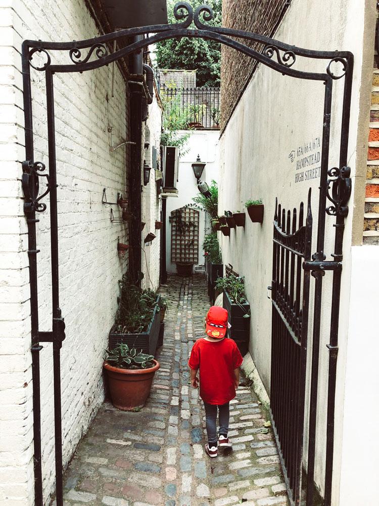caminhando-por-Hampstead-Londres