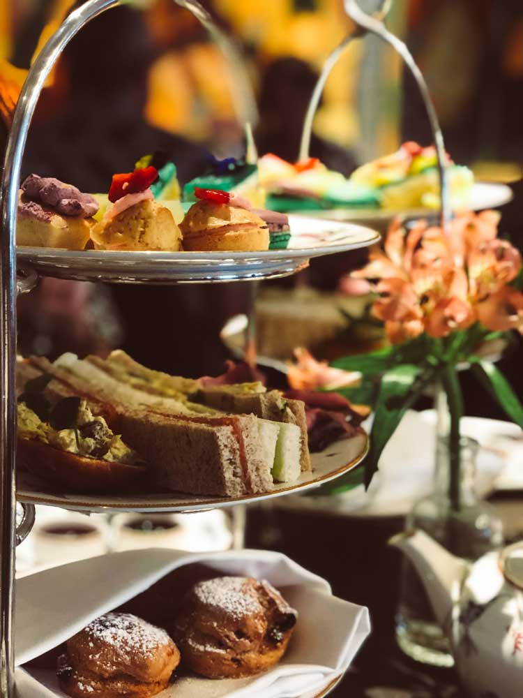 London – Afternoon tea at Charlotte Street Hotel