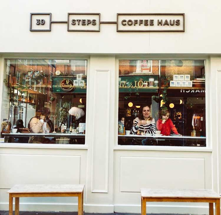 London – 39 Steps Coffee Haus